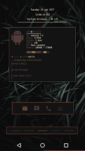 UnixP for KLWP Screenshot
