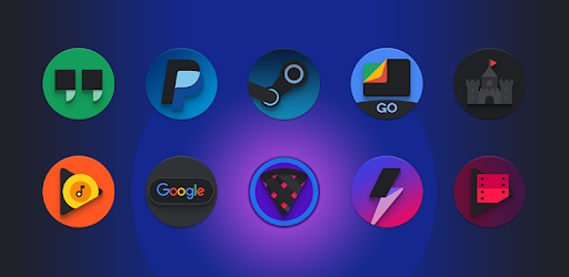 Baked - Dark Android Pie-inspired icons - Apps on Google Play