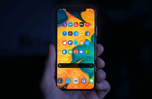 One UI Icon Pack -  Samsung Icons & Wallpapers ss1