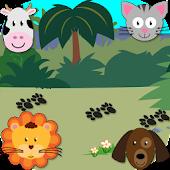Amusing animals for children +