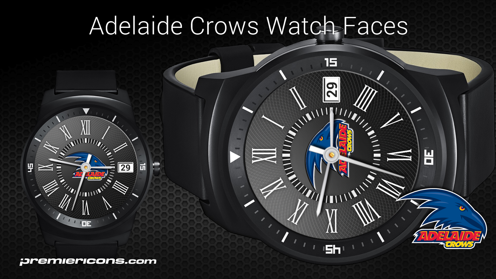 Adelaide Crows Watch Faces- screenshot