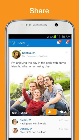 4 Skout - Meet, Chat, Friend App screenshot