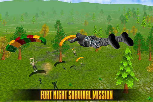 Fort Night Shooting Battle: Assault War Survival