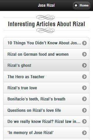 Jose Rizal 1.9 screenshots 3