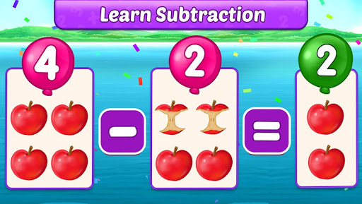Math Kids - Add, Subtract, Count, and Learn 1.1.5 screenshots 2