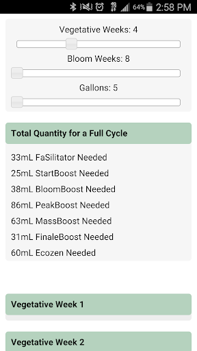 Aptus Nutrient Calculator
