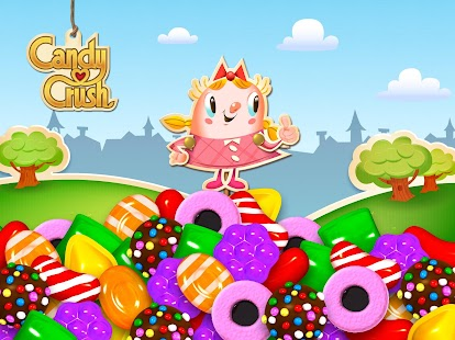 Candy Crush Saga: miniatura de captura de pantalla