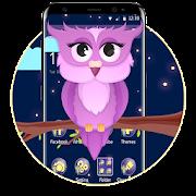 App Moon Night Purple Owl Theme APK for Windows Phone