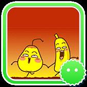 Stickey Nasty Banana and Pear