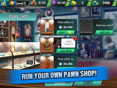Bid Wars Pawn Empire MOD APK 1.29 [Unlimited Money] 7