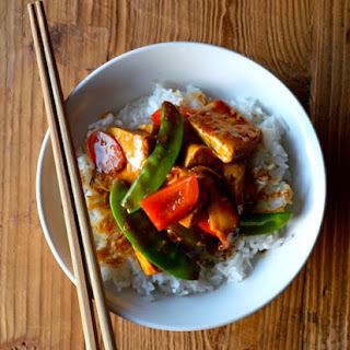 QUICK AND EASY BRAISED TOFU (Hongshao Dofu)