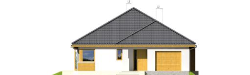 Glen II G1 Leca® Dom - Elewacja przednia