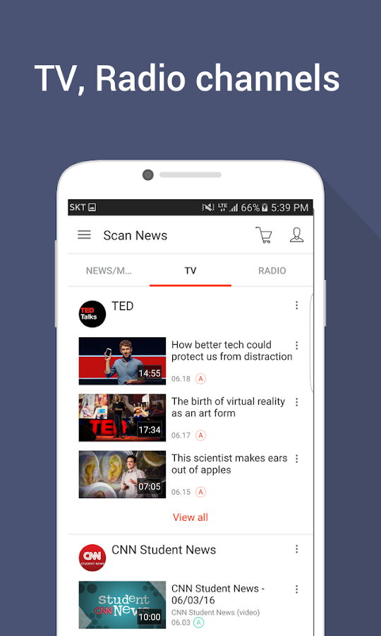 Learn English with News,TV- screenshot
