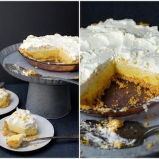 Lemon Chiffon Pie with Cornflake Crust