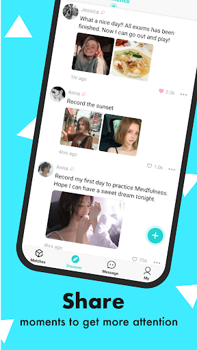 Sparkle - Meet New People, Make Friends Dating App qyqx_global_V1.1.0 screenshots 3