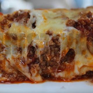 Meaty Lasagna