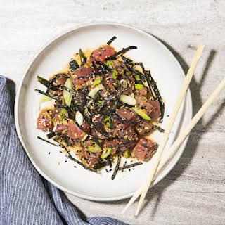 Tuna Poke Seaweed Recipes.