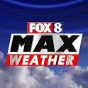 Fox8 Max Weather icon