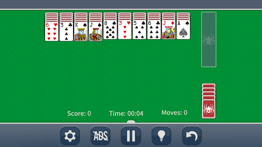 Spider Solitaire Classic apkpoly screenshots 10