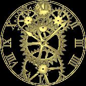 Brass Gears Clock LWP Free