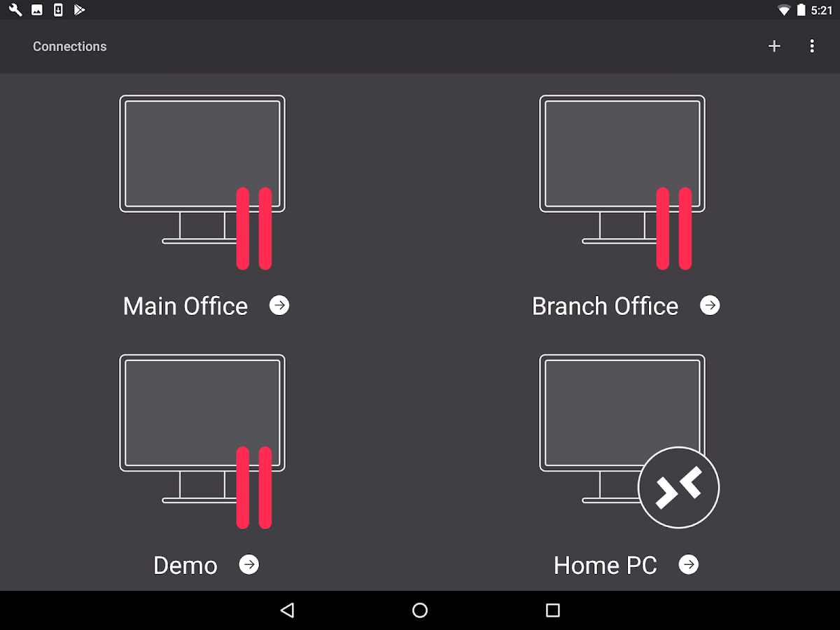 Parallels Client- screenshot