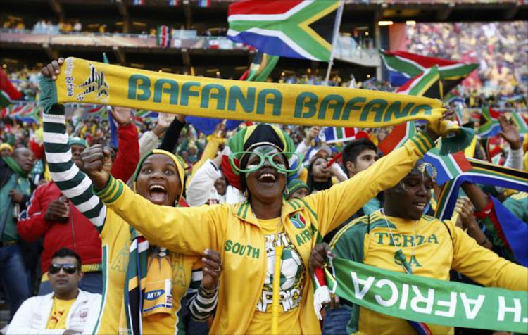 Bafana Bafana fans and football supporters in general are happy SA lost out to Egypt for the hosting rights .