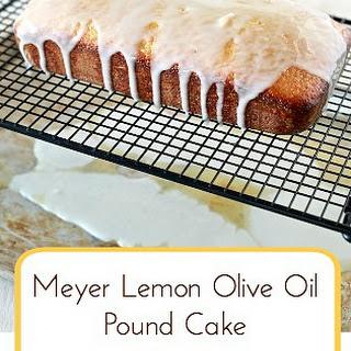Meyer Lemon Olive Oil Pound Cake