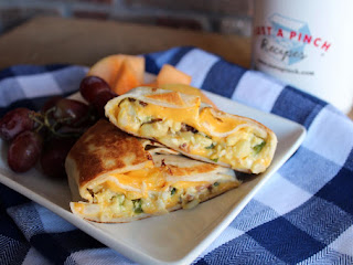 Homemade Breakfast Crunch Wraps Recipe