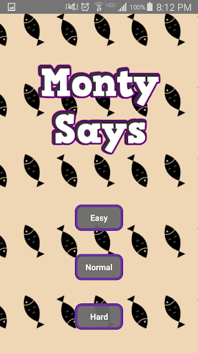 Monty Says: A Cat Memory Game