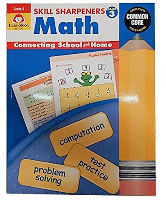 Skill Sharpeners Math Grade 3