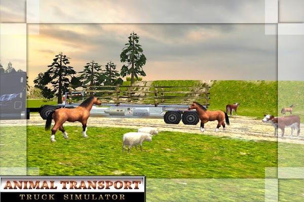 Offroad Animal Transport Truck - screenshot