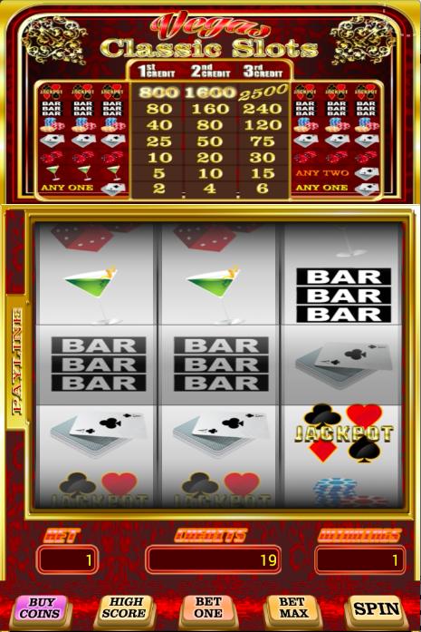 free slots classic vegas world