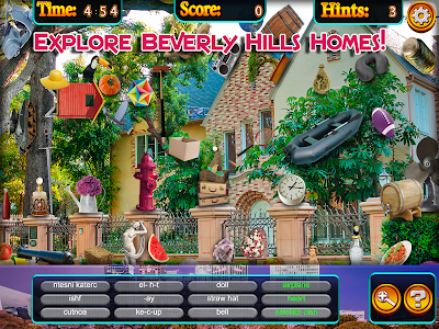 Hidden Objects - Beverly Hills screenshot 13