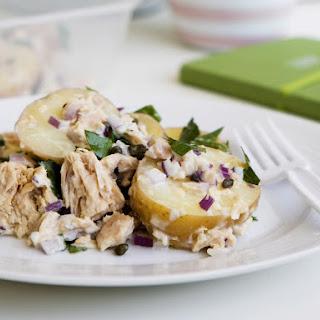 Tuna and Potato Salad with Capers.