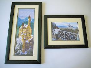 Photo: Первоначально была такая идея по оформлению: вышитый объект и мы на фоне объекта. Реализована частично: на стене почему-то висит только вышитый объект, впрочем, нечего на зеркало пенять, коли .... :)
