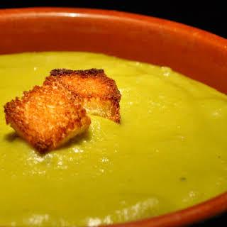 Betsy's No Garlic Split Pea Soup.