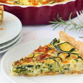 Herbed Zucchini Pie.