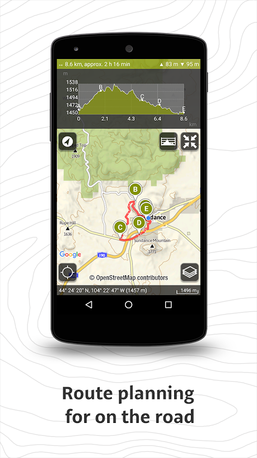Outdooractive- screenshot