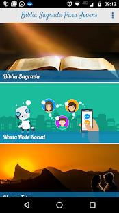 Bíblia Sagrada para Jovens Cristãos - náhled