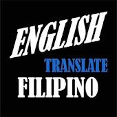 Filipino English Translate