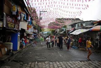 Photo: Les petites rues derrière Manille Intramuros