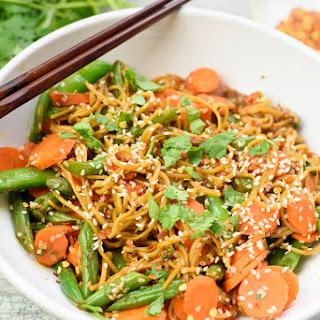 Fresh Cilantro Gluten-Free Soba Noodles
