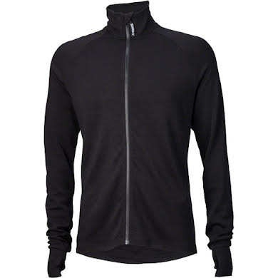 Surly Merino Wool Men's Long Sleeve Jersey: Black