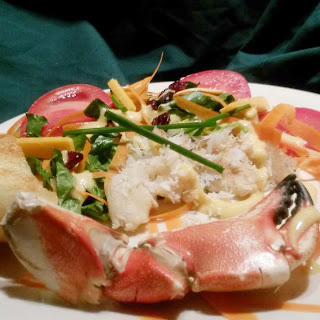 Green Salad with Jonah Crab Recipe