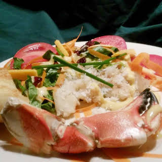 Green Salad With Crab Meat Recipes.