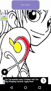 anime coloring book screenshot thumbnail