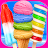 Rainbow Ice Cream & Popsicles logo