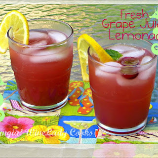 Fresh Grape Juice Lemonade