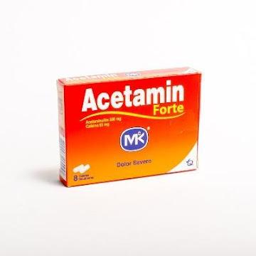 Acetaminofén FORTE MK 500mg