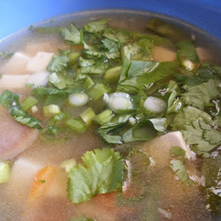 Vegetable Miso Soup.